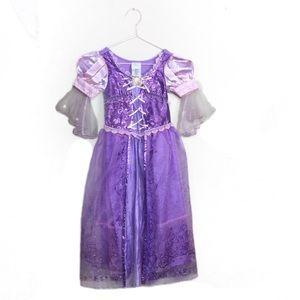 Disney Store Rapunzel dress up gown